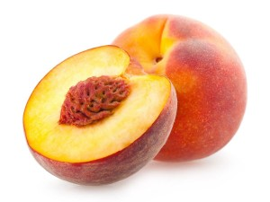 peach seed and youthful looks